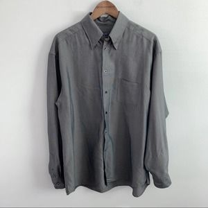 Ted Baker | Men's Charcoal Grey Button Down Shirt